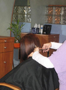 Hair styling, cutting, highlights and more